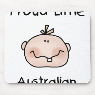 Australiano pequeno orgulhoso do bebé mousepads