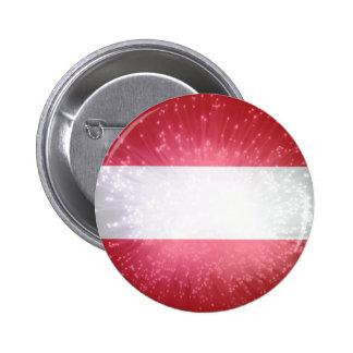 Áustria; Österreich Flagge Botons