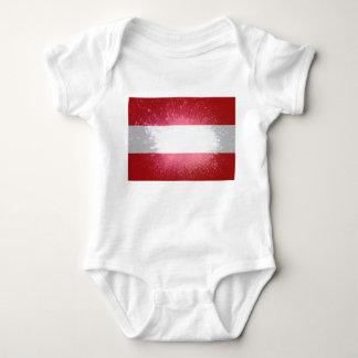 Áustria; Österreich Flagge Camisetas