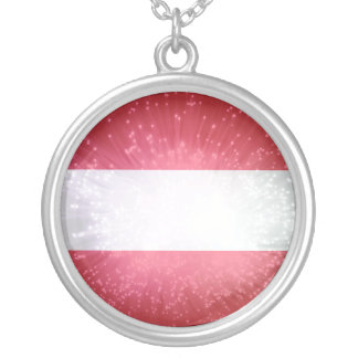 Áustria Österreich Flagge Bijuteria