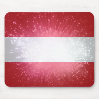 Áustria; Österreich Flagge Mousepads