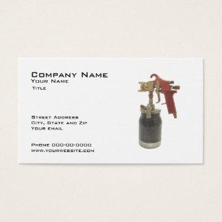 Auto cartão de visita do corpo
