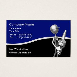 Auto cartões de visitas