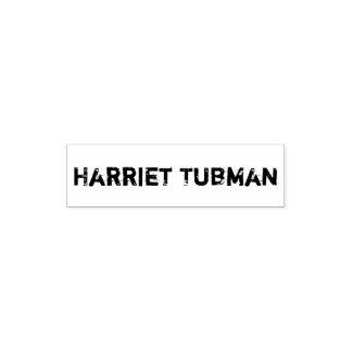 Auto de Harriet Tubman que cobre o carimbo de