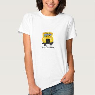 Auto escolar 2 (customizável) tshirts
