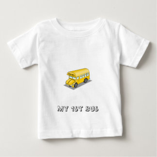 Auto escolar amarelo t-shirts