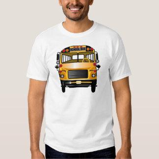 Auto escolar camiseta