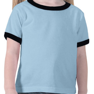 Auto escolar com os miúdos prées-escolar camiseta