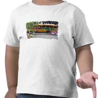 Auto escolar camisetas