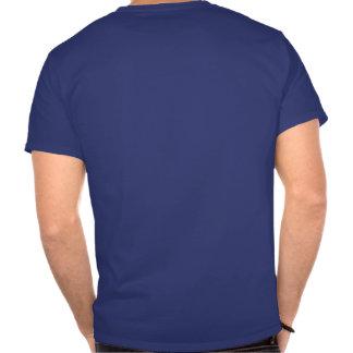 Auto etiqueta do sifão camiseta