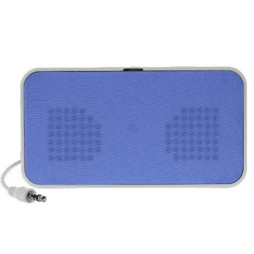 Auto-falante azuis do doodle caixinhas de som para iPhone