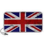 Auto-falante britânico do laptop da bandeira caixinhas de som para viagem