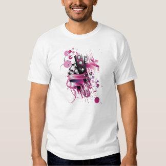 Auto-falante cor-de-rosa Funky Tshirt