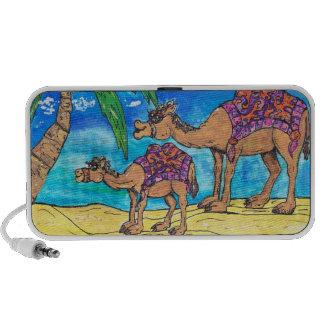Auto-falante da mãe e do Bub do camelo Caixinhas De Som Para Viagem