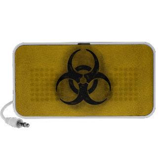 Auto-falante do Biohazard do zombi Caixinha De Som Para iPhone