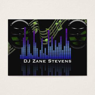 Auto-falante do DJ, funcionarios da música, bar do Cartão De Visitas