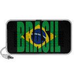 Auto-falante do Doodle da bandeira de Brasil Caixinha De Som Para Mp3