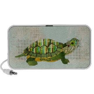 Auto-falante do Doodle da tartaruga do jade Caixinhas De Som Para Pc