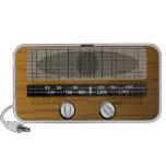 Auto-falante do Doodle do rádio do vintage Caixinhas De Som Para Mini