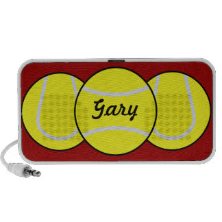 Auto-falante do Doodle do tênis