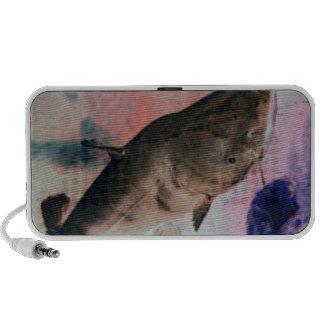 Auto-falante do peixe-gato caixinha de som para laptop