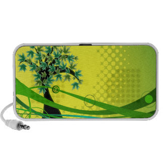 Auto-falante do Portable da árvore da natureza Caixinhas De Som Para Mp3