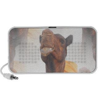 Auto-falante do Portable da colagem do camelo Caixinha De Som Para iPod