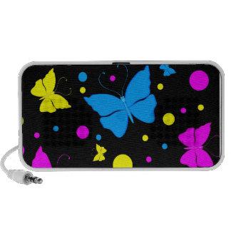 Auto-falante do Portable das borboletas Caixinhas De Som Portátil