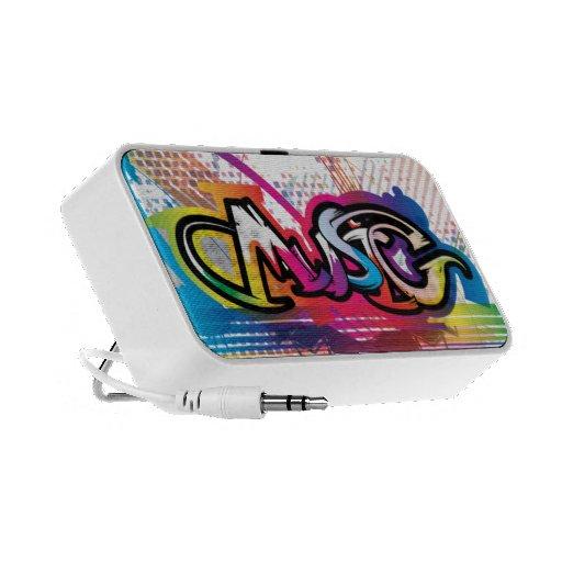 Auto-falante do Portable dos grafites da música Caixinha De Som Para iPhone