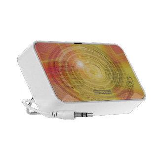 Auto-falante modernos do Doodle de Swirly Caixinhas De Som Para Laptop