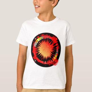 Auto-falante retro alto camiseta