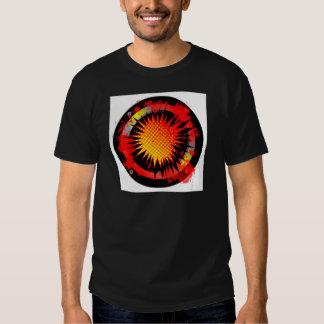 Auto-falante retro alto t-shirt