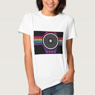 Auto-falante retro camisetas