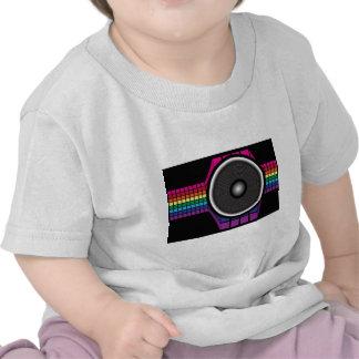 Auto-falante retro tshirt
