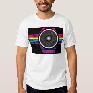 Auto-falante retro t-shirts