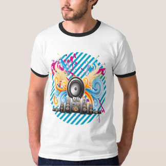 Auto-falante T-shirt
