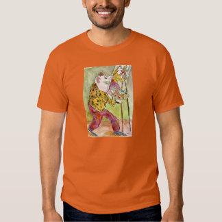 Auto-Retrato com o t-shirt da obscuridade do