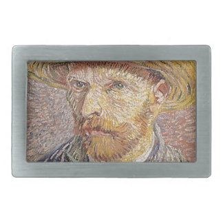 Auto-Retrato com um chapéu de palha - Van Gogh
