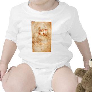 Auto-Retrato de Leonardo da Vinci cerca de Macacãozinho