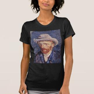 Auto-Retrato de Van Gogh com chapéu de feltro Tshirt