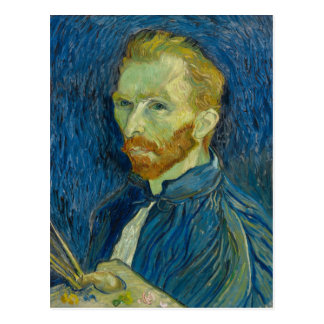 Auto-Retrato de Vincent van Gogh Cartão Postal