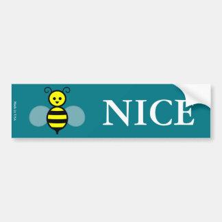 Autocolante no vidro traseiro agradável da abelha adesivo para carro