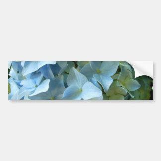 Autocolante no vidro traseiro azul da flor II do Adesivo Para Carro