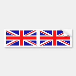 Autocolante no vidro traseiro britânico de Union Adesivo Para Carro