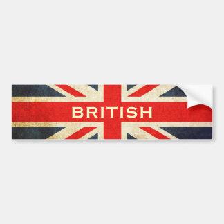 Autocolante no vidro traseiro britânico de Union J Adesivos