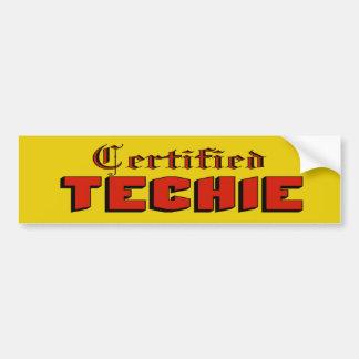 Autocolante no vidro traseiro certificado de Techi Adesivo Para Carro