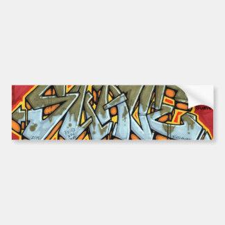 Autocolante no vidro traseiro conhecido dos grafit adesivo para carro
