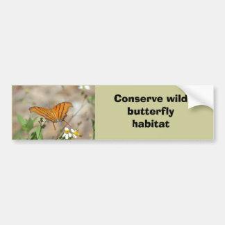 Autocolante no vidro traseiro corado da borboleta  adesivos