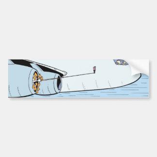 Autocolante no vidro traseiro da aviação dos adesivo para carro