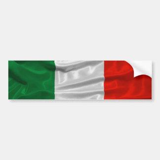Autocolante no vidro traseiro da bandeira de Itali Adesivo